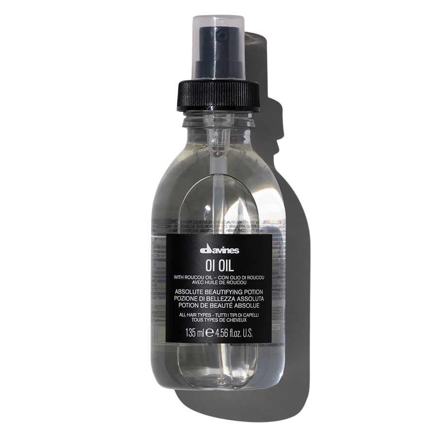 OI масло для абсолютной красоты волос с маслом аннатто Davines