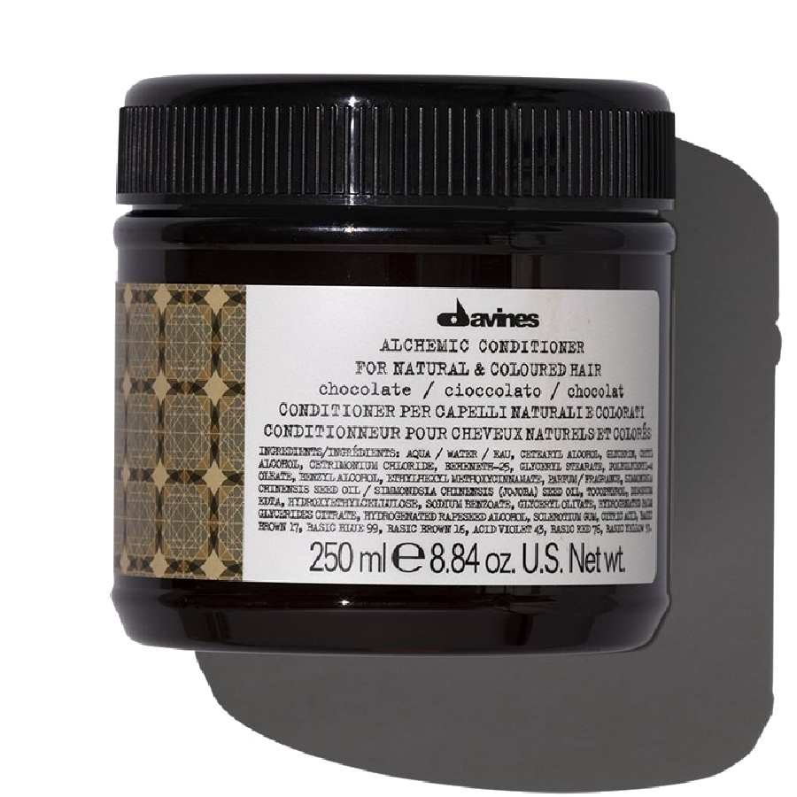 Кондиционер Alchemic, шоколад Davines