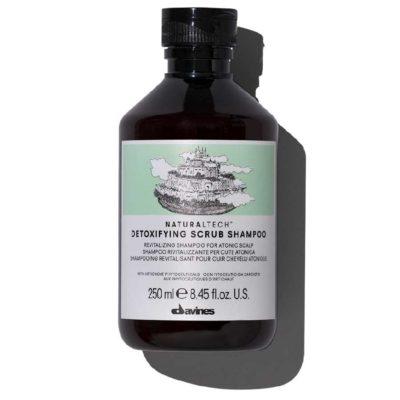 NT Detoxifying детоксицирующий шампунь-скраб Davines