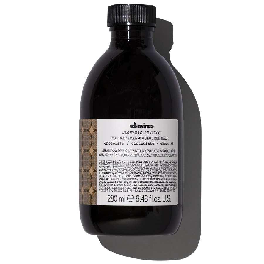 Оттеночный шампунь Alchemic, шоколад davines