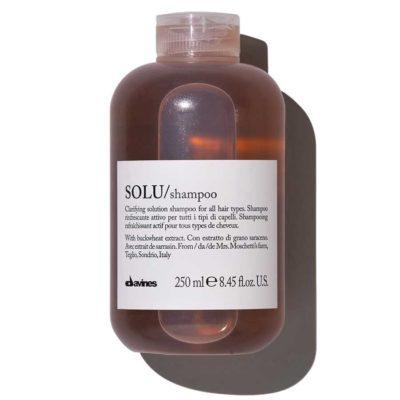 SOLU освежающий шампунь для глубокого очищения Davines