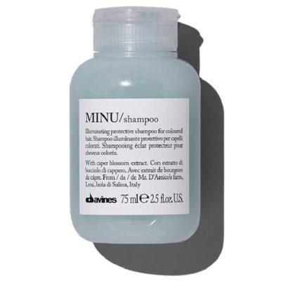 MINU travel шампунь для сохранения цвета Davines