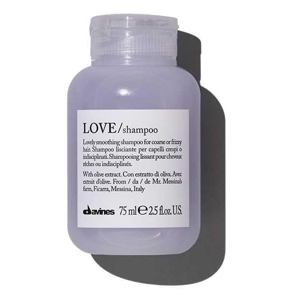 LOVE travel шампунь для разглаживания завитка Davines