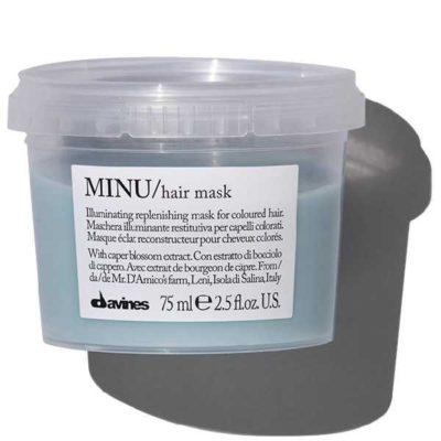MINU travel маска для окрашенных волос Davines