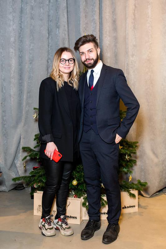 Новогодний девичник Domenico Castello & Davines